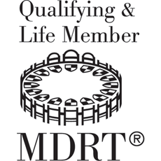 MDRT qualifying and life member